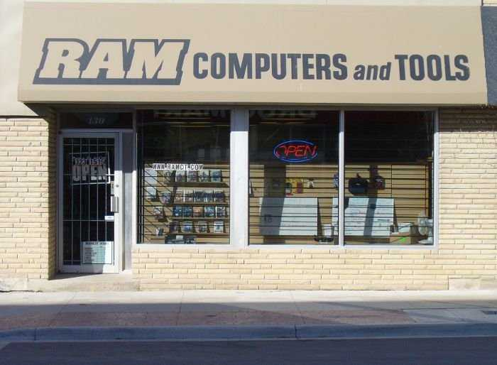 RAM Computers and Tools Store Front