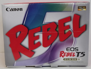 Image of: Canon Rebel T5 Camera Kit