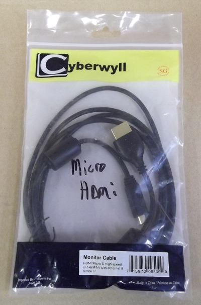 Image of: 6' Micro HDMI Cable