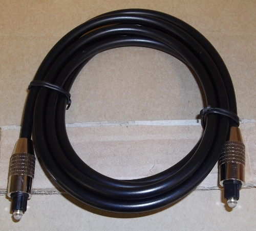Image of: 6' Toslink Digital Optical Cable