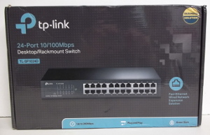 Image of: TP Link 24 Port Switch